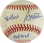 Jackie Smith Autographed Official National League Baseball Inscribed HOF 94