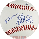 Robert Stephenson Autographed Official Southern League Baseball To Chuck 17