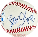 Bob Stoops Autographed Rawlings Official League Baseball