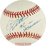 Gino Toretta Autographed Official National League Baseball Inscribed 92 Heisman