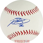 Martin Truex Autographed Official Major League Baseball Inscribed 36