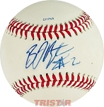 BJ Upton Autographed Rawlings Official League Baseball Inscribed 2