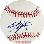 BJ Upton Autographed Official Major League Baseball Inscribed 2