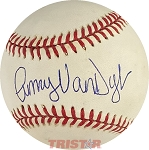 Amy Van Dyken Autographed Official American League Baseball