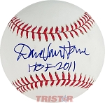 Dave Van Horne Official Major League Baseball Inscribed HOF 2011