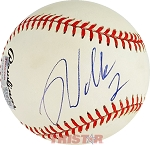 Rusty Wallace Autographed Official National League Baseball Inscribed 2