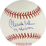 Charles White Autographed Official Major League Baseball Inscribed 79 Heisman