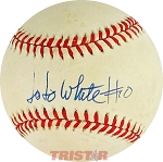 JoJo White Autographed Official National League Baseball Inscribed 10