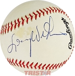 Lenny Wilkens Autographed Official National League Baseball