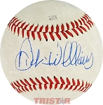 Dick Williams Autographed Official Minor League Baseball