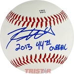 Trevor Williams Autographed Official Southern League Baseball Inscribed 2013 44th Overall