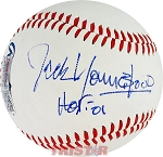 Jack Youngblood Autographed Official Southern League Baseball Inscribed HOF 01