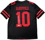 Jimmy Garoppolo Autographed San Francisco 49ers Nike 'Limited' Black Jersey