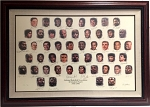 NBA 50 Greatest Players Autographed Limited Edition Lithograph #5/50 - Michael Jordan & More