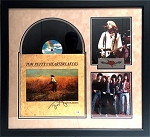 Tom Petty and the Heartbreakers Autographed 'Southern Accents' Album Cover Framed