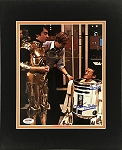 Kenny Baker & Anthony Daniels Autographed 'Star Wars' R2-D2 & C-3PO 8x10 Photo