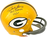 Bart Starr Autographed Green Bay Packers Full Size TK Helmet Inscribed SB I Champs