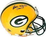 Reggie White Autographed Green Bay Packers Authentic Full Size Helmet