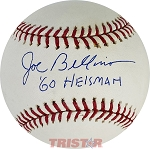Joe Bellino Autographed Official Major League Baseball Inscribed 60 Heisman