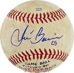 Jose Berrios Autographed Southern League Baseball Inscribed #25