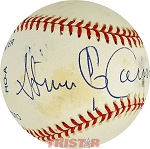 Stephen Cannell Autographed Official American League Baseball