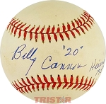 Billy Cannon Autographed Official American League Baseball Inscribed Heisman 1959