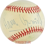 Harry Connick Jr. Autographed Official American League Baseball Inscribed To Chuck