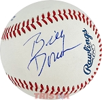 Billy Donovan Autographed Official Southern League Baseball