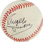 Angelo Dundee Autographed Official National League Baseball