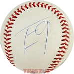 Travis Etienne Autographed Minor League Baseball Inscribed 9