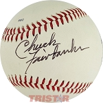 Chuck Fairbanks Autographed Official Southern League Baseball