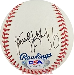 Janet Jones Gretzky Autographed Official Major League Baseball