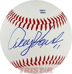 Denny Hamlin Autographed Southern League Baseball Inscribed 11