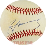MC Hammer Autographed Official American League Baseball