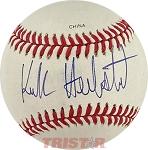 Kirk Herbstreit Autographed Rawlings Official League Baseball