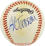 Al Jarreau Autographed Official National League Baseball