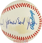 James Earl Jones Autographed Official AL Baseball Inscribed to Chuck A Field of Dreams