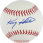 Kasey Kahne Autographed Official Major League Baseball