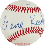Gene Keady Autographed Official League Baseball
