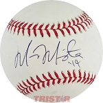 Marcus Mariota Autographed Official Major League Baseball Inscribed 14