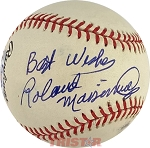 Rollie Massimino Autographed Official National League Baseball Inscribed Best Wishes