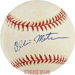 Ollie Matson Autographed Official American League Baseball
