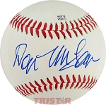 Don McLean Autographed Official Southern League Baseball