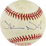 Oliver North Autographed Official American League Baseball