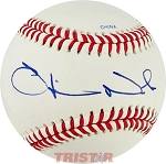 Oliver North Autographed Rawlings Official League Baseball