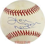Ken Norton Autographed Official National League Baseball