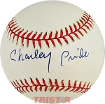 Charley Pride Autographed Official National League Baseball