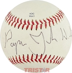 John Schnatter Autographed Official Southern League Baseball Inscribed Papa