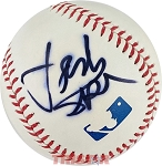 Jordan Spieth Autographed Official Major League Baseball