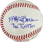 Howard Kaylan & Mark Volman Autographed Baseball Inscribed The Turtles